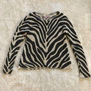 Calypso St. Barth 100% Cashmere Sweater Gray S